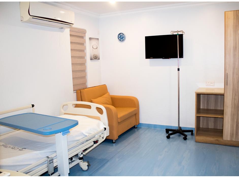 City Clinic Room TV