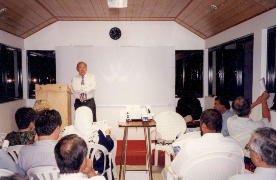 Lecture by Dr Patrick CWC