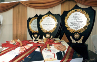 Awards of Dr Patrick CWC