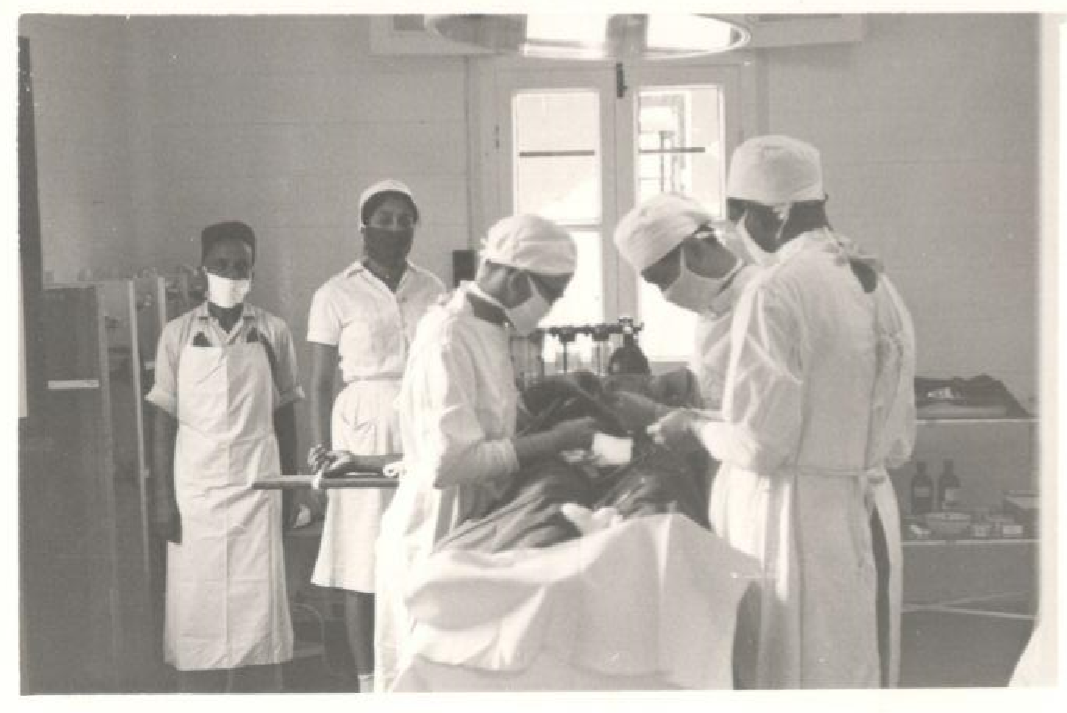 Old Picture - Surgical Procedure